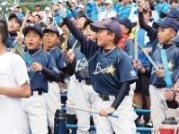 準決勝-少年野球チームも応援