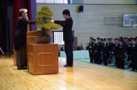 卒業証書授与-理工科代表