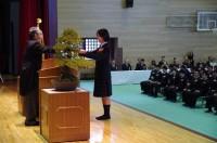 卒業証書授与-普通科代表