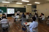 学級懇談会 4J