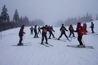スキー研修の様子