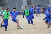 試合の様子 男子サッカー