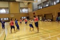 試合の様子 女子バスケットボール