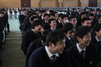 笑顔であふれる生徒