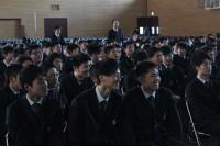 笑顔で溢れる生徒
