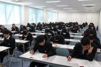 試験中の様子
