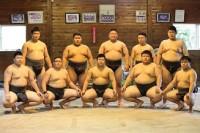 相撲部の皆さん