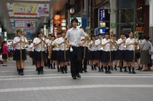 本校の吹奏楽部
